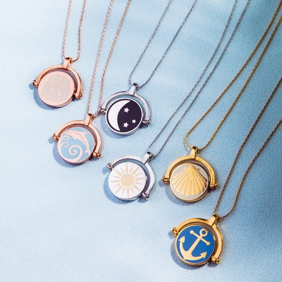 Alex and Ani Jewelry - Anchor & Shell Color Infusion Expandable Necklace